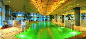 The swimming pool at or near Grand Hyatt Shanghai