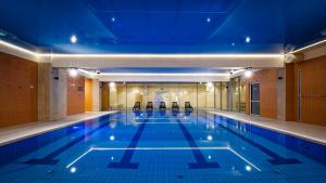 Бассейн в Interferie Aquapark Sport Hotel Malachit или поблизости