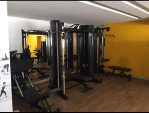 The fitness centre and/or fitness facilities at Lounge 22 Home Design