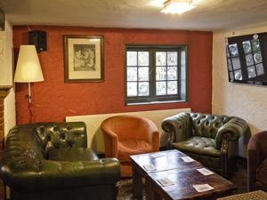 A seating area at The May Garland Inn
