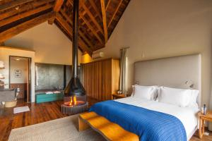 Cama ou camas em um quarto em Six Senses Botanique