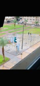 Uma vista da piscina em المناسك الماسية ou nos arredores