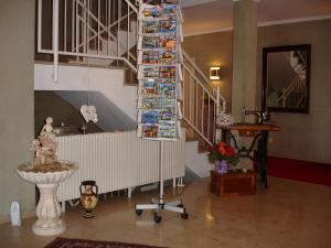 Lobby/Rezeption in der Unterkunft Hotel Kurallee
