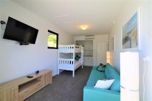 A bunk bed or bunk beds in a room at Yallingup Beach Resort