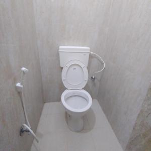 A bathroom at Bimala Hotel