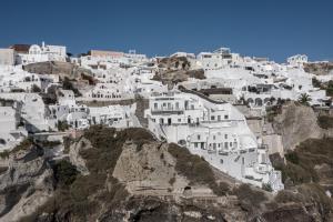 Caldera Premium Villas during the winter