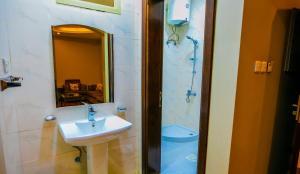Um banheiro em Lamasat Abha Hotel