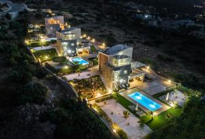 A bird's-eye view of Aroma Villas