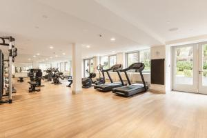 The fitness centre and/or fitness facilities at Waldorf Astoria Amsterdam