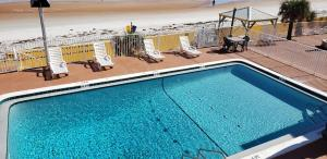 A view of the pool at Oceanfront Inn and Suites - Ormond or nearby