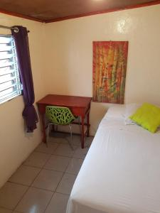 A bed or beds in a room at Managua Backpackers Inn
