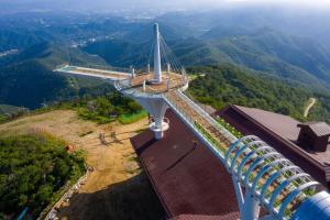 A bird's-eye view of Yongpyong Resort