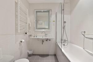 A bathroom at Napoleon