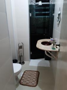 Um banheiro em Apartamento Asturias