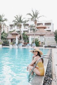 The swimming pool at or near My Way Hua Hin Music Hotel - SHA Plus Certified -