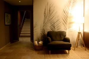 A seating area at Hotel Porta do Sol Conference & SPA