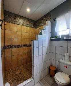 A bathroom at St Charles Inn
