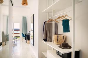 Coin salon dans l'établissement Apartamentos Islamar Arrecife