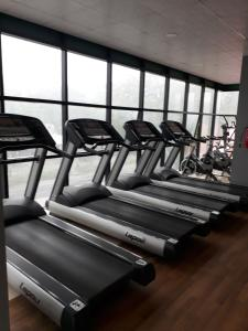 The fitness center and/or fitness facilities at Imperial Hotel & Apartments