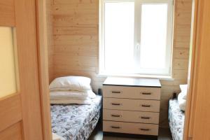 Кровать или кровати в номере База отдыха Связист