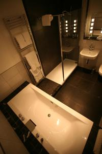 A bathroom at Fishmore Hall Hotel and Boutique Spa