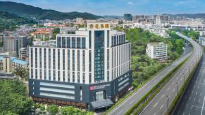 منظر Hilton Garden Inn Guangzhou Tianhe من الأعلى
