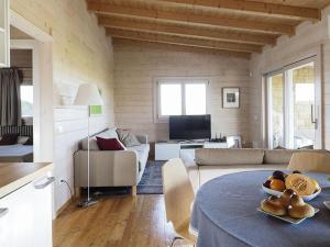 Area soggiorno di Holiday home Zagarabianca