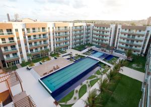 A view of the pool at Sun Residence or nearby
