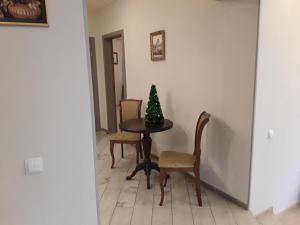 Гостиная зона в Апартаменты на Советской Набережной