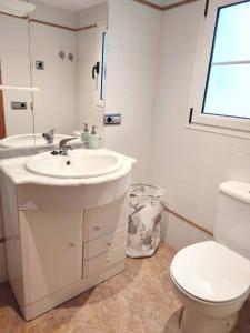 Un baño de Apartamento Plaza Mayor Trujillo
