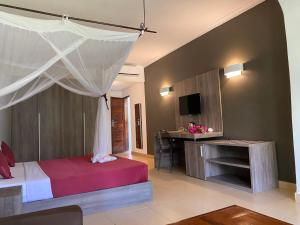 Letto o letti in una camera di My Blue Hotel
