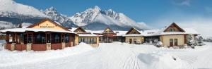 Hotel Amalia im Winter