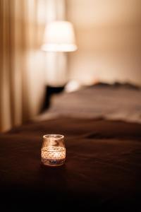Uma cama ou camas num quarto em Axis Viana Business & SPA Hotel