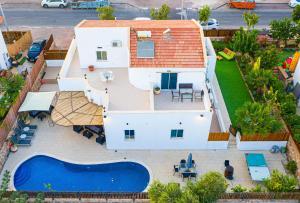 Vista aerea di Sun and view Casa