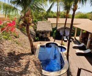 The swimming pool at or close to Pousada La Vie Jeri