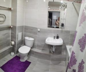 Ванная комната в Aliance smazchikov-Malevich