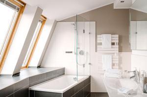 A bathroom at The Grand