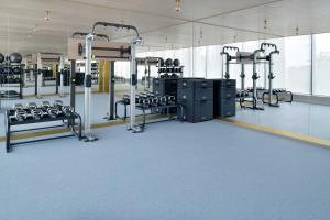 The fitness centre and/or fitness facilities at Hotel Indigo Dubai Downtown, an IHG Hotel