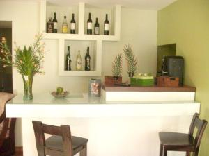 The lobby or reception area at House with 7 bedrooms in Santa Eulalia with furnished terrace 25 km from the slopes
