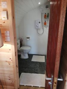 A bathroom at Glamping Pod for 4 Pod Beag Na Haun Eriskay
