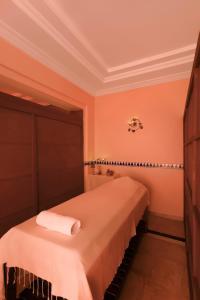 Een bed of bedden in een kamer bij Iberostar Averroes