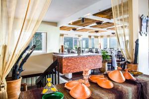 مطعم أو مكان آخر لتناول الطعام في Hotel Asmaa