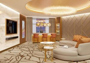 The lobby or reception area at Sunway Resort