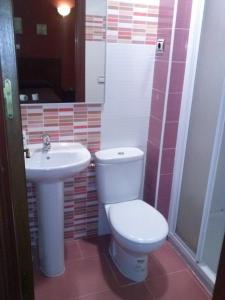 A bathroom at Pension El Cesar