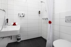 A bathroom at Boutique 072 Hamburg St. Georg