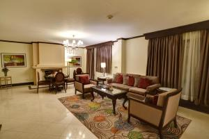 A seating area at Pearl Continental Hotel, Bhurban
