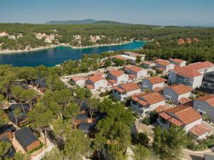 A bird's-eye view of Gava Waterman Milna Resort – All Inclusive