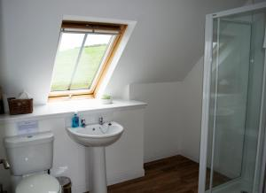A bathroom at The Byre cottage