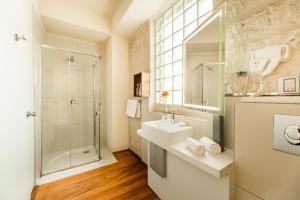 Kúpeľňa v ubytovaní Palla Boutique Hotel