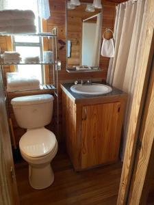 A bathroom at Camp N Water